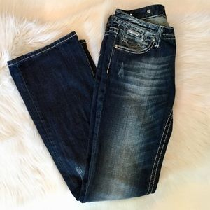 Express ReRock Boot Cut Jeans, 4R